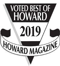 Best of Howard award badge